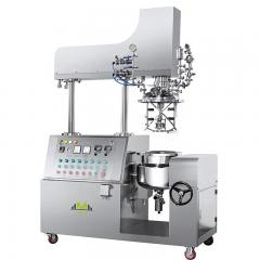 Vacuum Emulsifying Mixer Machine