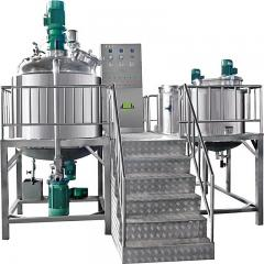 Vacuum Emulsifier Machine