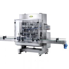 Hand sanitizer gel filling machine