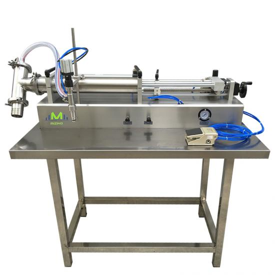 Alcohol hand sanitiser gel filling machine