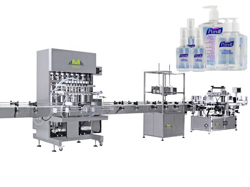 What disinfectant is used for new coronavirus, disinfectant bottle filling machine supplier in stock